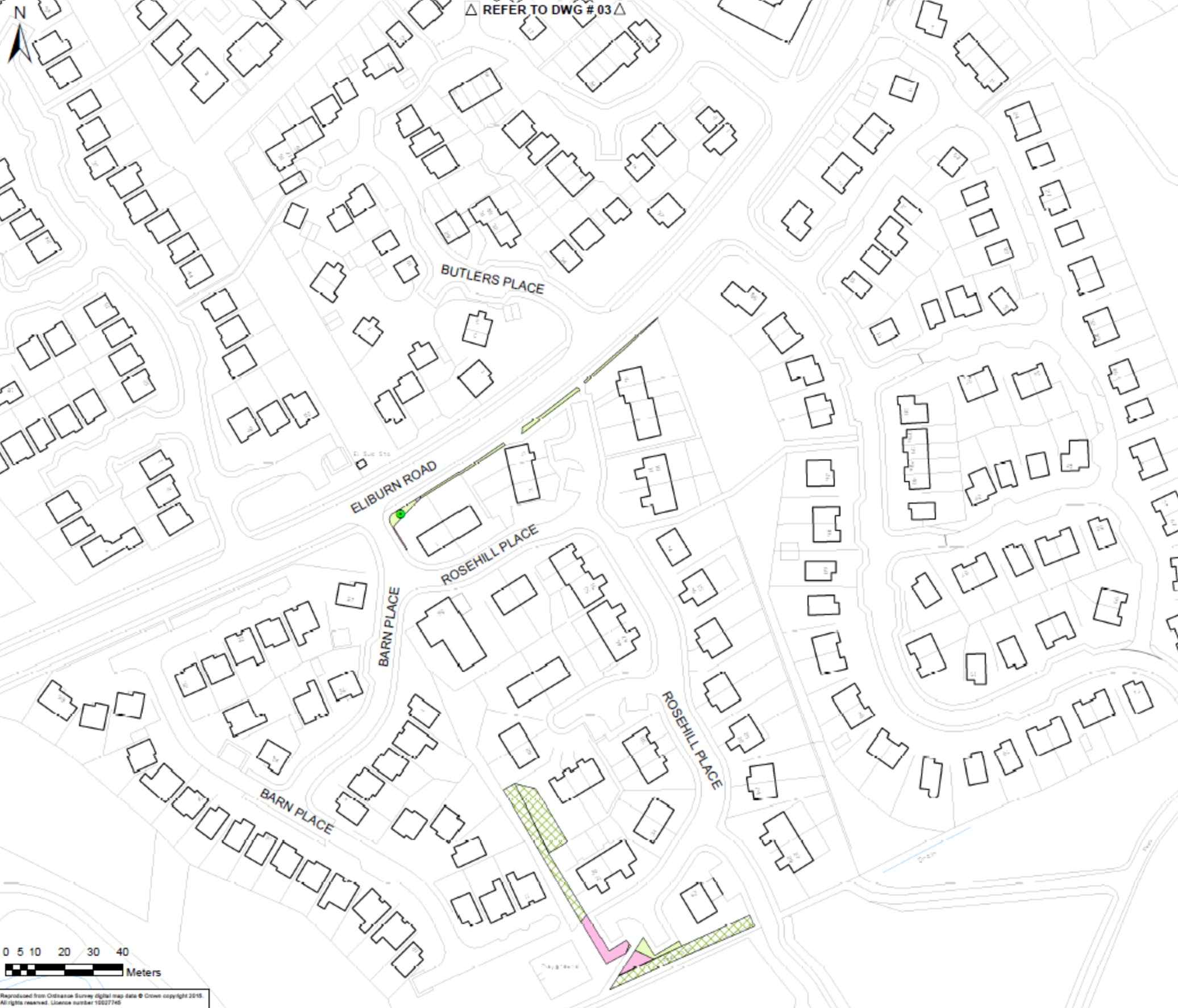 Estate Management map Rosehill
