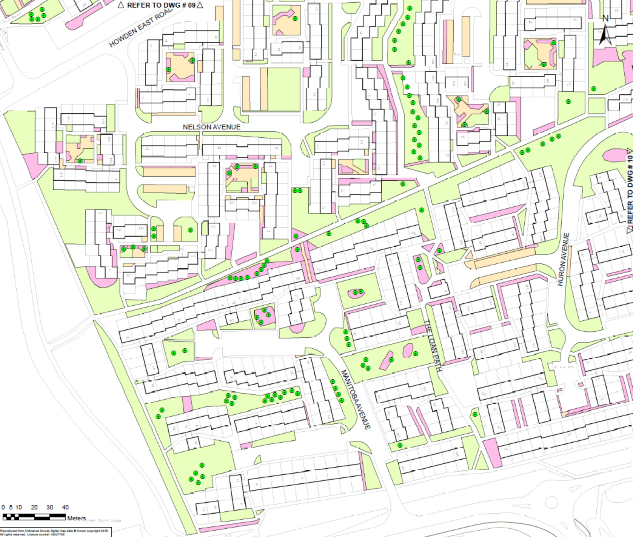 Estate Management map Howden 5