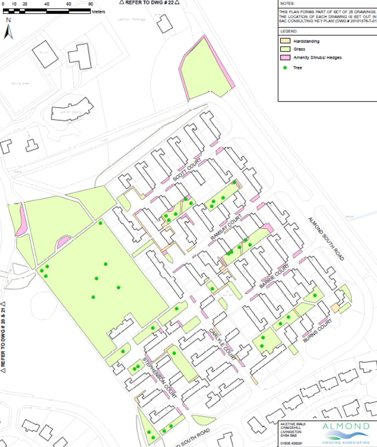 Estate Management map Craigshill 12